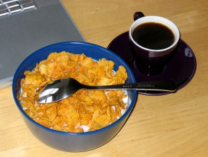 Breakfast, entirely optional for weight loss Photo credit: Alisdair McDiarmid via Flickr, Creative Commons license