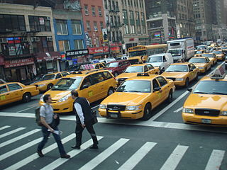 New York taxis -- transportation dinosaurs Photo credit: Wikipedia